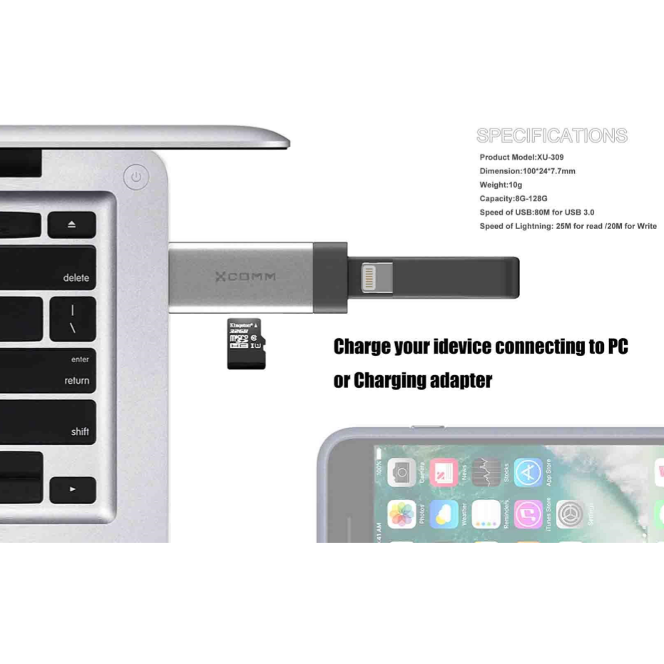 Apple iPhone Flash Drive Cable
