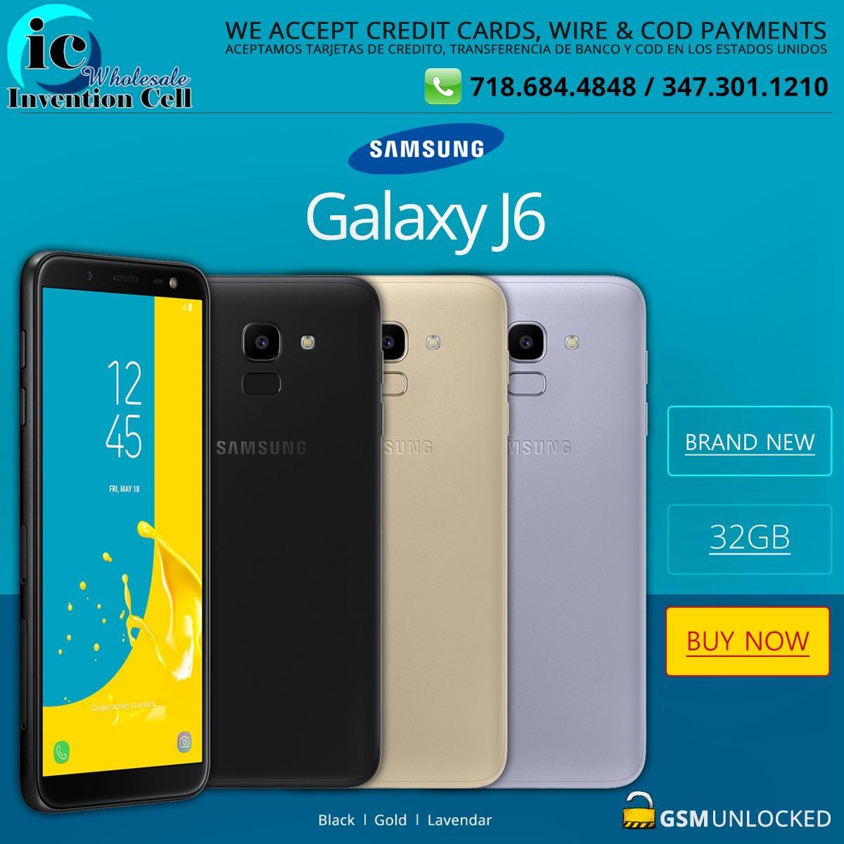 56f19a252fe Samsung Galaxy J6 Wholesale