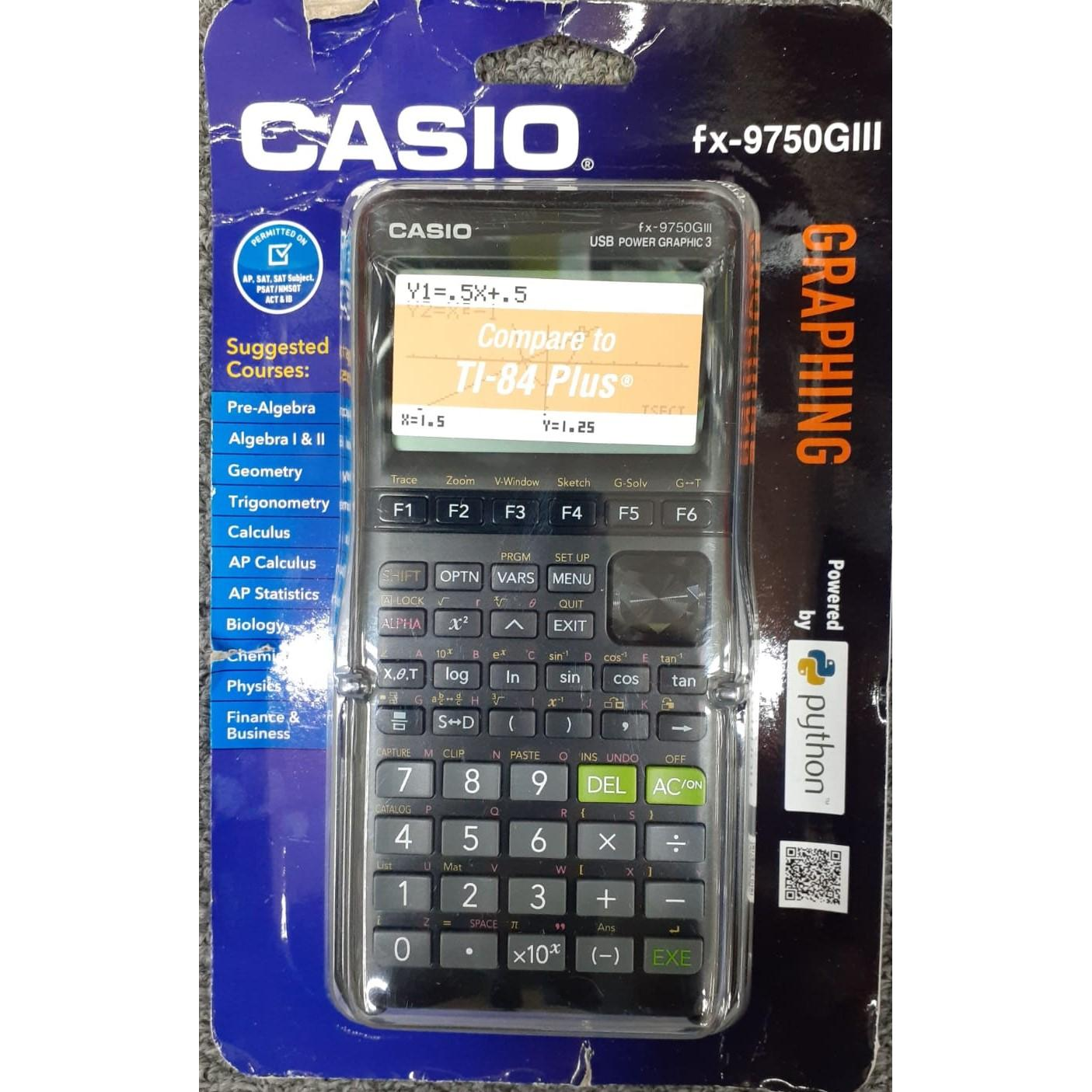 Casio CASIO Graphing Calculator FX-9750GIII