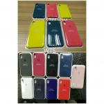 Apple Iphone X Silicone Case 12 colours Wholesale