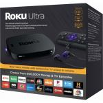 SEALED ROKU MEDIA PLAYER ULTRA (2018) Wholesale