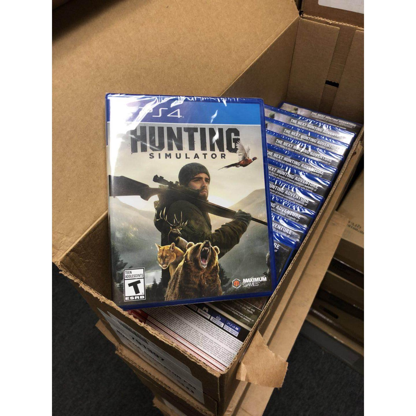 Sony PS4 game - Hunting Simulator Wholesale